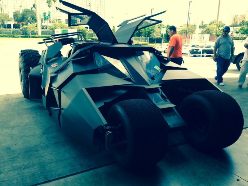 Batmobile, international auto shipping-World Class Shipping