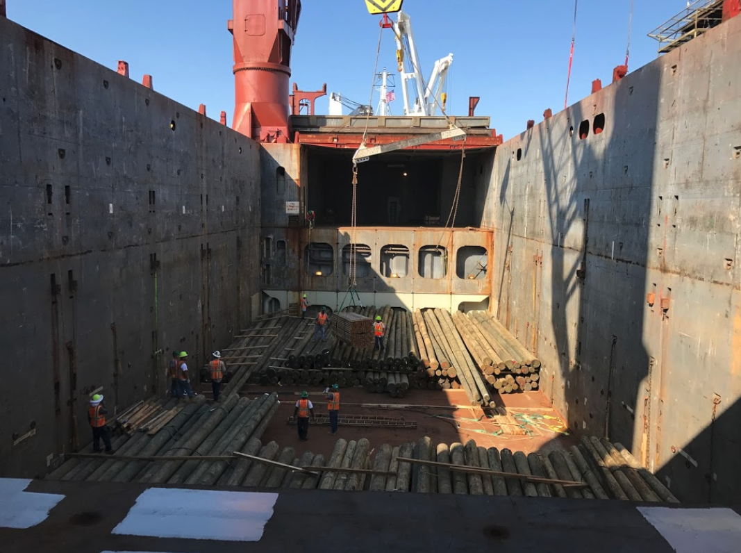 full ocean charter, project freight